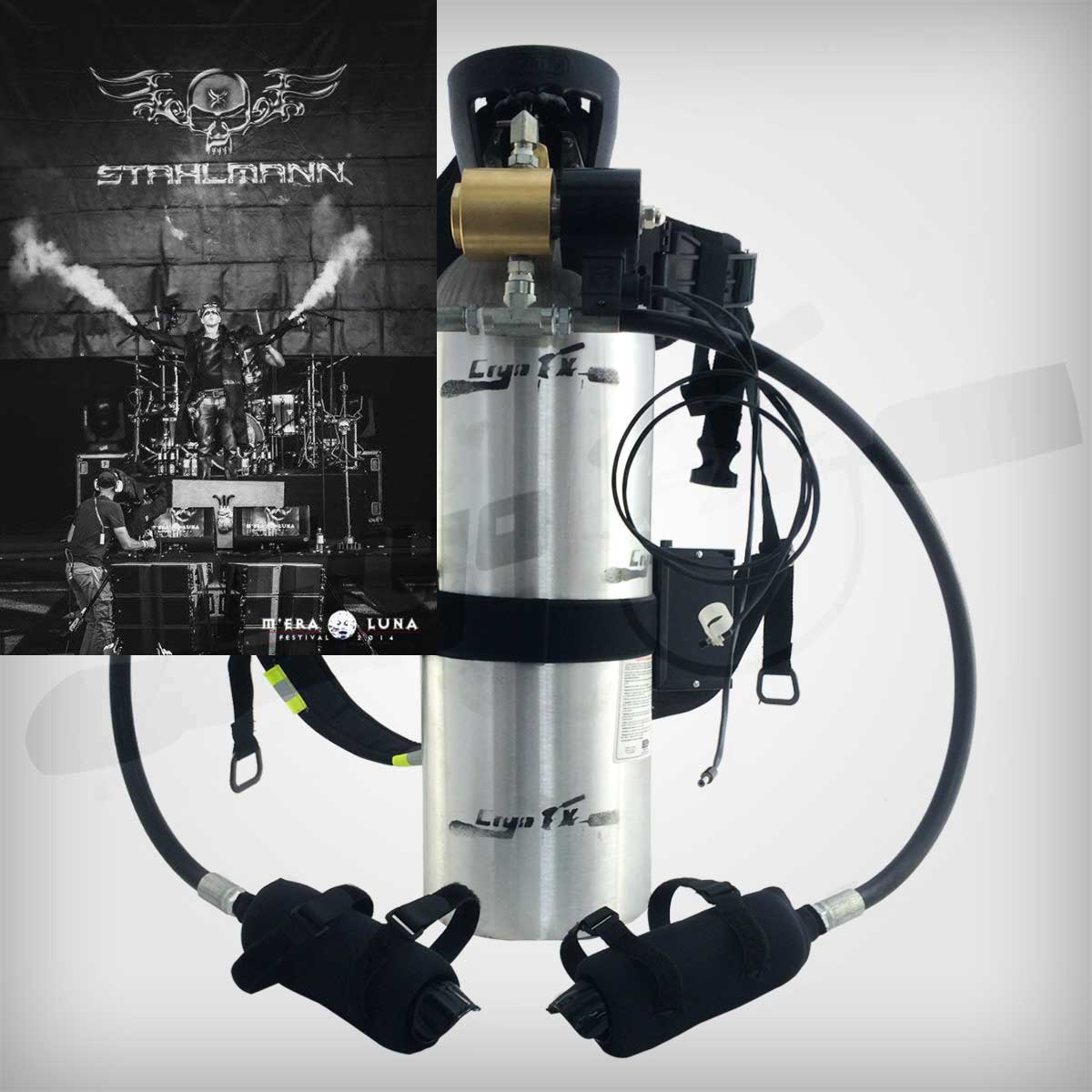 CO2 Special Effects Custom Equipment Manufacturer CryoFX®