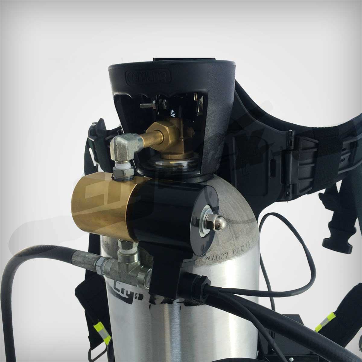 STAHLMANN Custom CO2 Special Effects Equipment Custom Designed and Built by CryoFX® Custom Tank