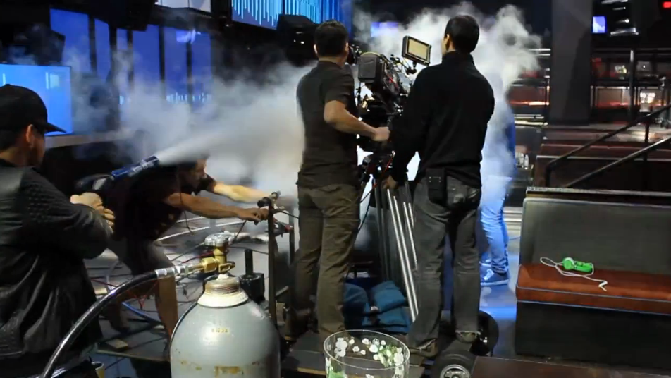 Custom CO2 Special Effects Equipment By CryoFX® - Nicky Romero Music Video