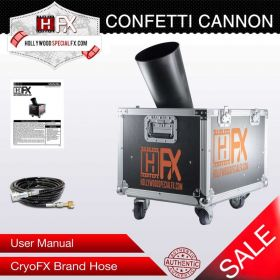 Hollywood Special FX® Confetti Cannon for Rent
