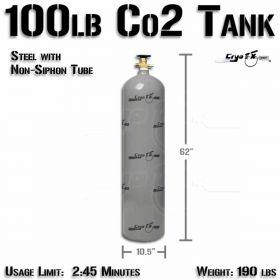 100lb Co2 Tank (Non Siphon)