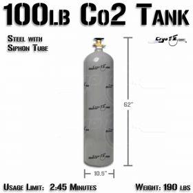 100lb Co2 Tank (Siphon)