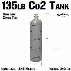135lb Co2 Tank (Siphon)