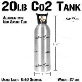 20lb Co2 Tank (Non Siphon)