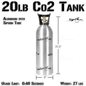 20lb Co2 Tank (Siphon Tube)