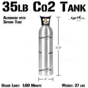 35lb Co2 Tank (Siphon Tube)