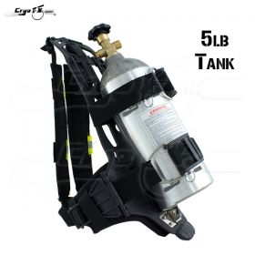 Co2 Backpack+5lb Tank Package