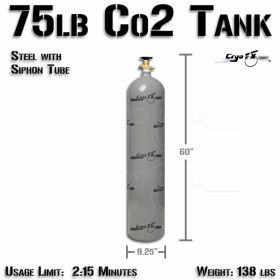 75lb Co2 Tank (Siphon Tube)