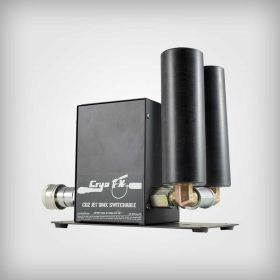 CryoFX® CO2 Dual Nozzle Special Effect Cannon Jet DMX For Rent