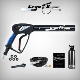 Cryo Gun + 20 lb Co2 Tank