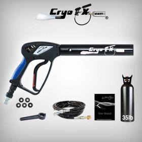 Cryo Gun + 35 lb Co2 Tank